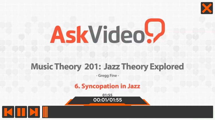 Jazz Theory Explore Course