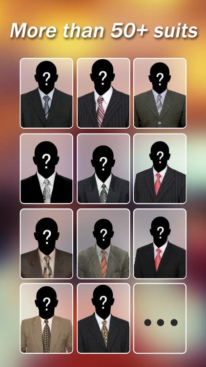 Man Suit -Fashion Photo Closet screenshot-4