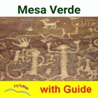Mesa Verde Park  GPS and outdoor map with guide icon