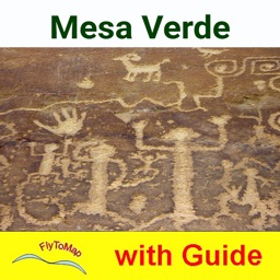 Mesa Verde Park  GPS and outdoor map with guide