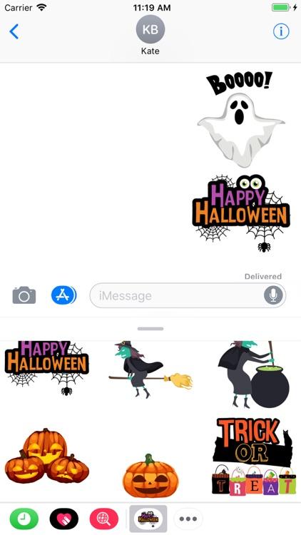 Stickers Halloween Animated