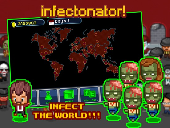 Screenshot #3 for Infectonator