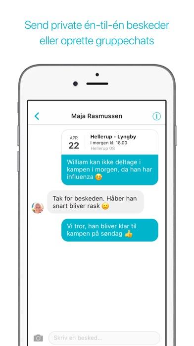 Screenshot for Spond in Denmark App Store