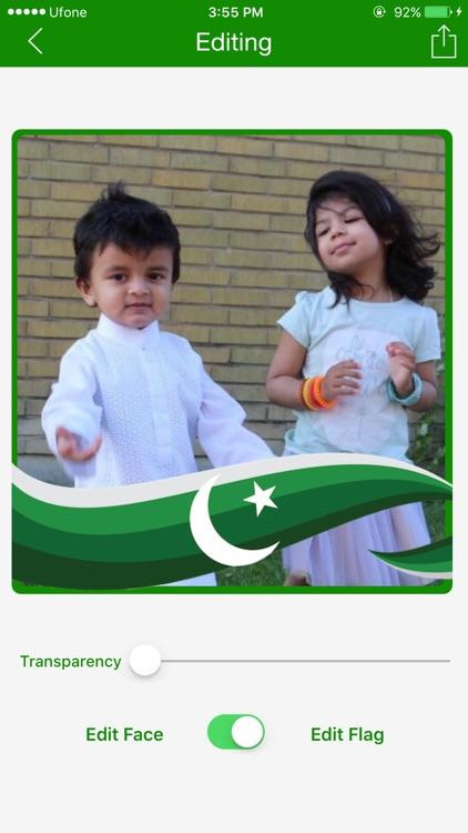 Pakistan Flagfie : Selfie With Pak Flag screenshot-3