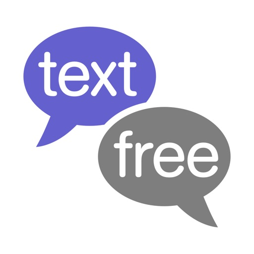 Text Free: Texting App + SMS application logo