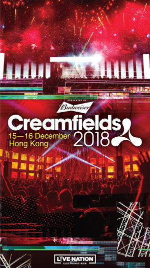 creamfields iphone