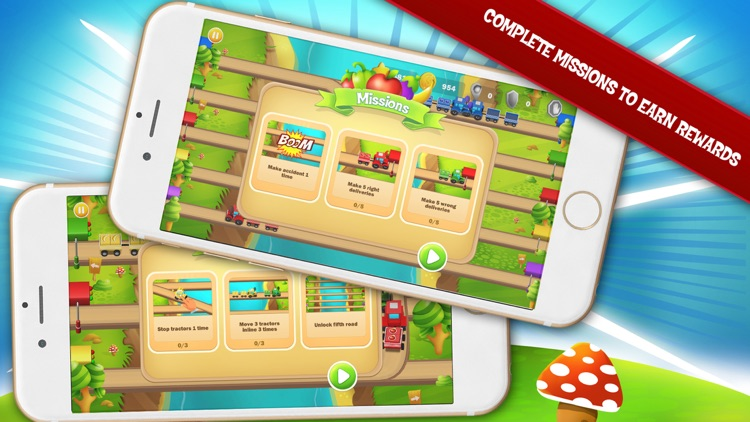 Tractor Rush Go screenshot-2