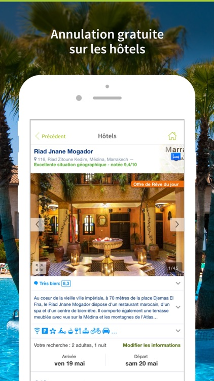 Go Voyages - Vols & Hôtels screenshot-4