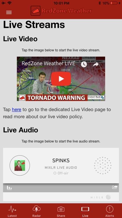 RedZone Weather screenshot-3