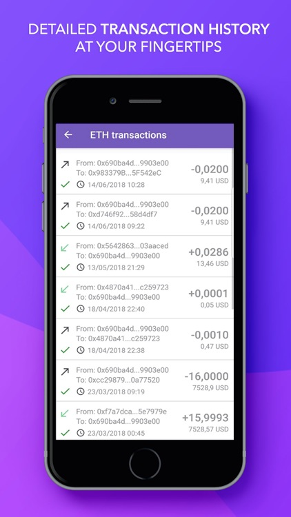 Citowise - Ethereum Wallet screenshot-5