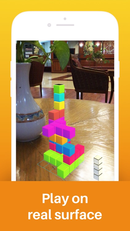 Tetroids AR Puzzle Game screenshot-3