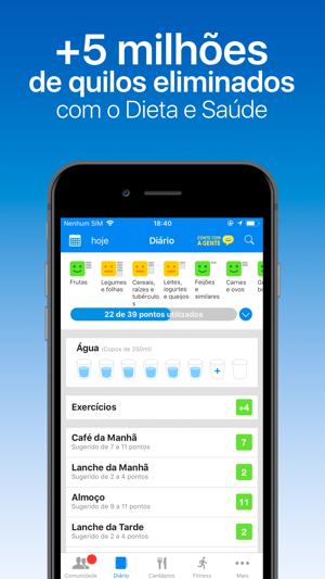 App para dieta e exercicio
