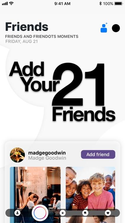 Friendots - Share your friends