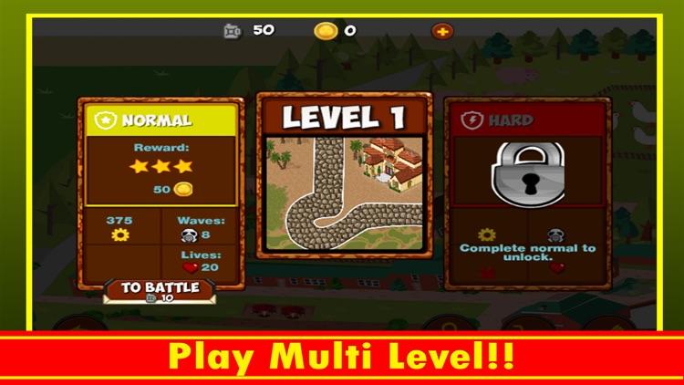 Town Battle Defense screenshot-4