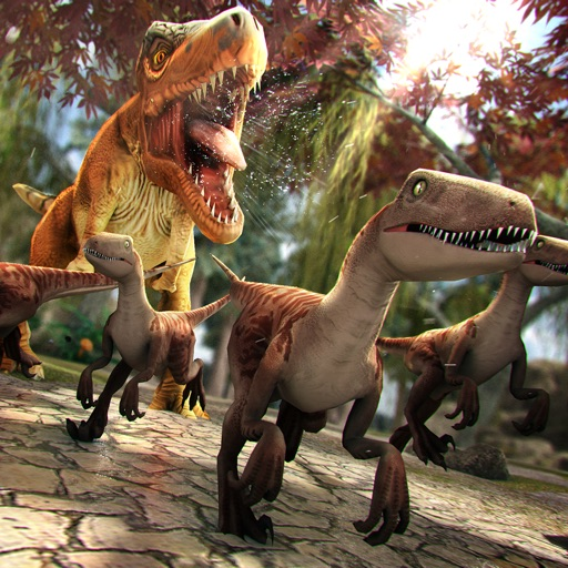 Jurassic Dinos: T-Rex Rider iOS App