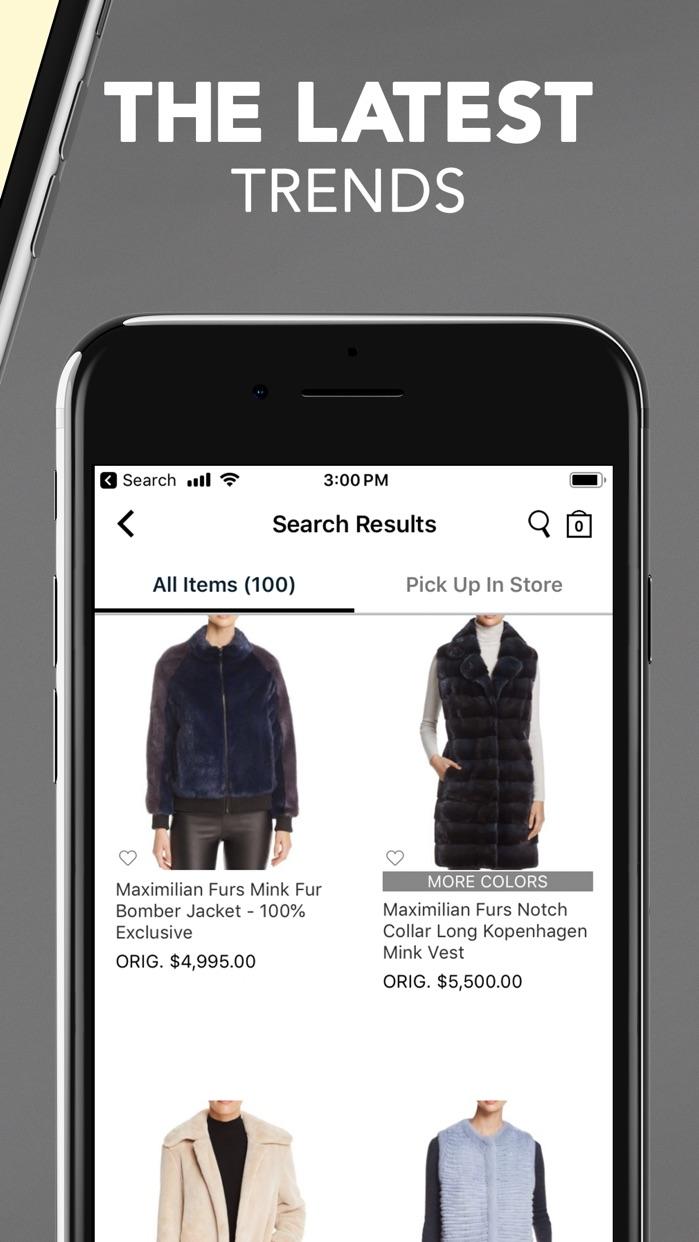 Bloomingdale's: Designer Style Screenshot