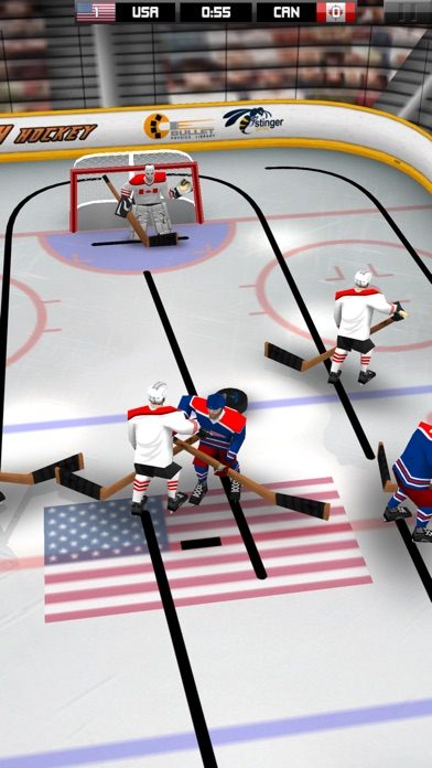 Stinger Table Hockey review screenshots