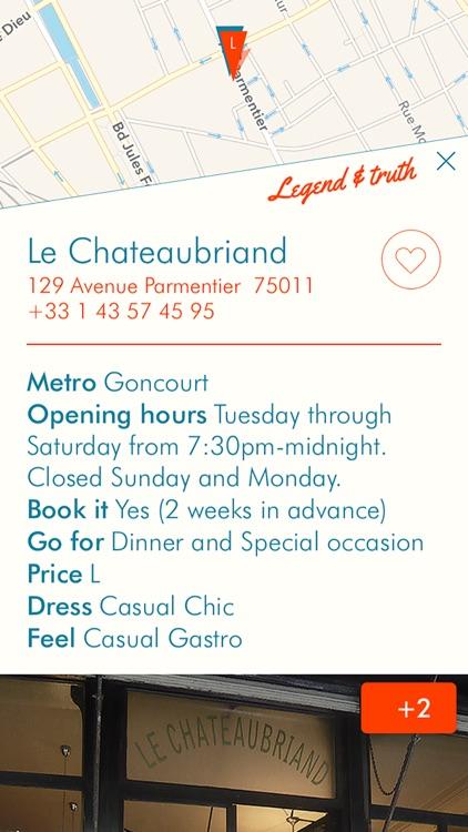 ParisEats - curated selection of Paris restaurants