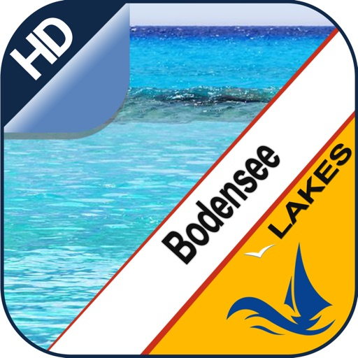 Lake Constance offline nautical charts for boaters