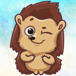 Hedgehog! Stickers
