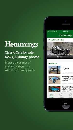Hemmings Classic Cars for Sale on the App Store