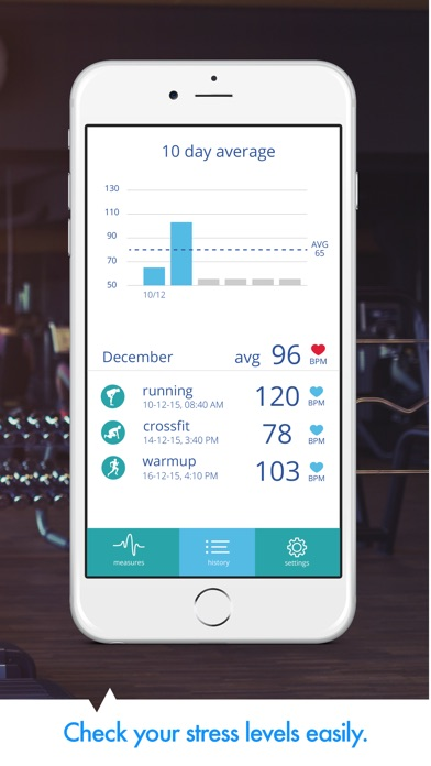 Screenshot for Heart Rate PRO in Denmark App Store