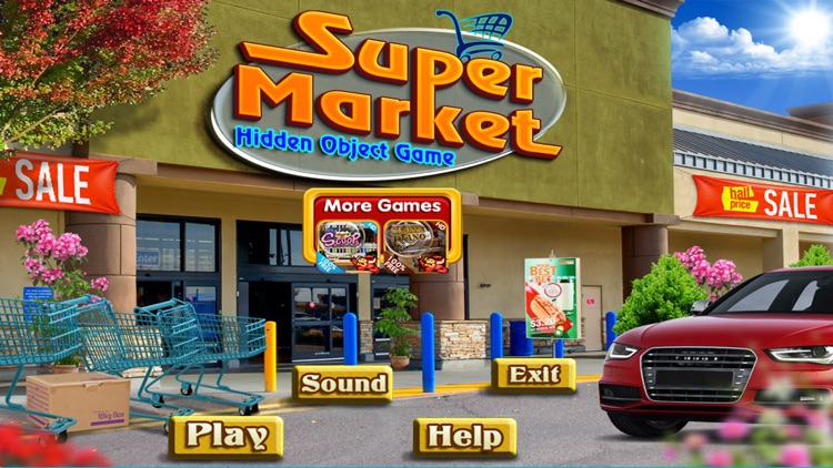 Super Market Hidden Objects screenshot-3