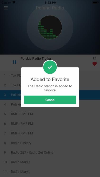 Poland Radio Station Polish FM screenshot-3