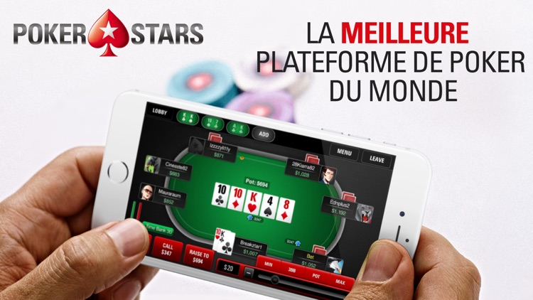 PokerStars: Poker en Ligne screenshot-0