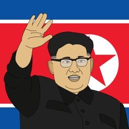 Supreme Leader Kim Jong-un Stickers