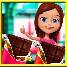 Dark Chocolate Bar Factory Sim