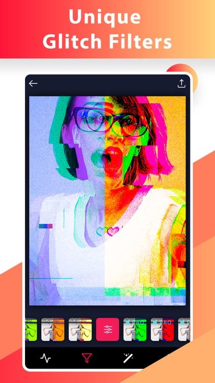 Glitch Video Photo 3D Effect.s screenshot-3