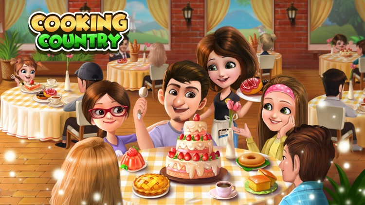 Cooking Country™: My Home Cafe screenshot-6