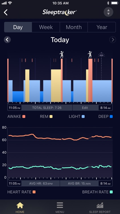 Sleeptracker® screenshot-1