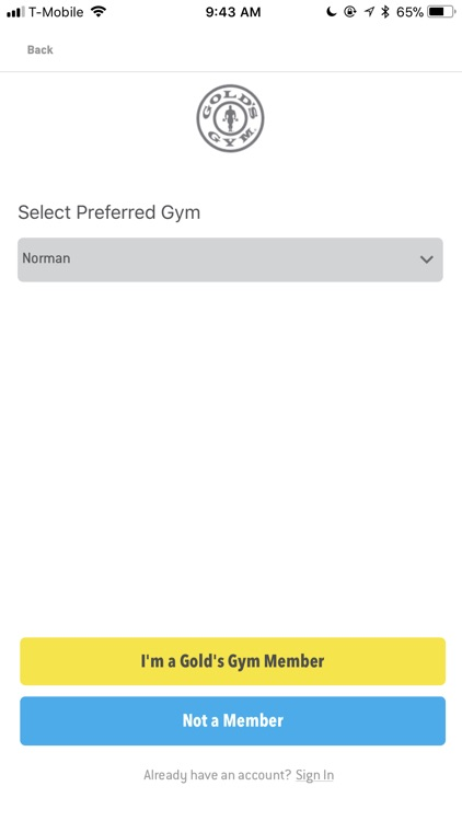 Gold's Gym screenshot-3