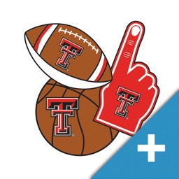 Texas Tech Red Raiders PLUS Selfie Stickers