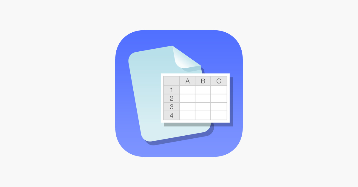 iSpreadsheet™ : Office Sheets im App Store