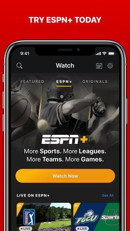 ESPN: Live Sports & Scores screenshot-3