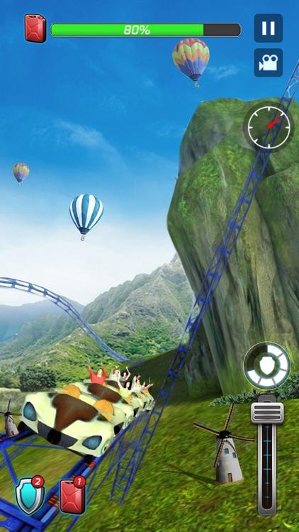 Roller Coaster Deluxe 3D screenshot-4
