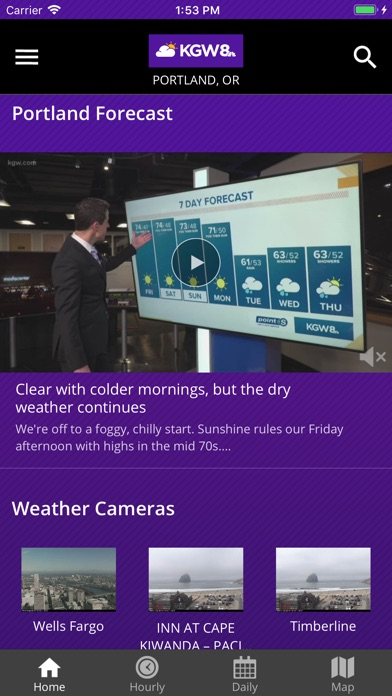 Portland Weather From Kgw 8 review screenshots