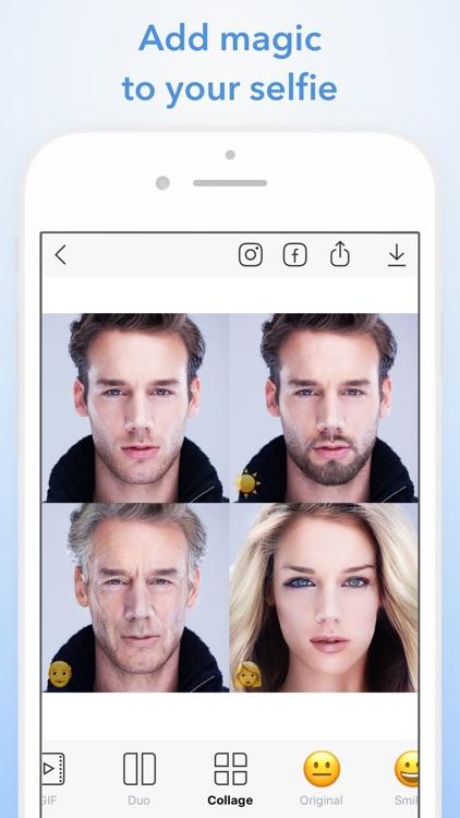 FaceApp: Neural Face Magic screenshot-0