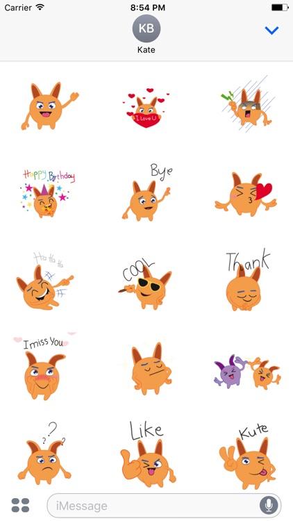 Bunny emoji animated