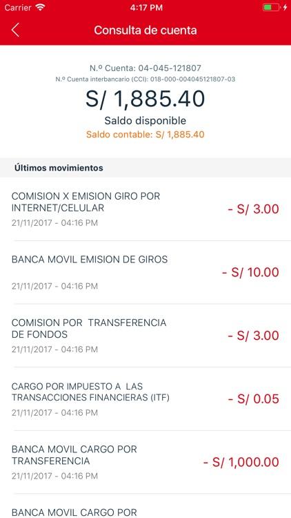 Banco de la Nación-banca móvil