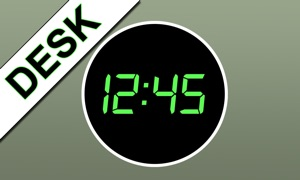 iDigital Desk Clock TV Edition