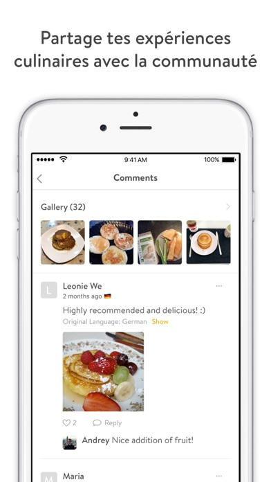Screenshot for Kitchen Stories in Lebanon App Store