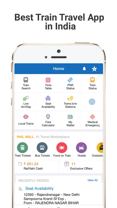 Top 10 Apps like Indian Railways & IRCTC Info for iPhone & iPad