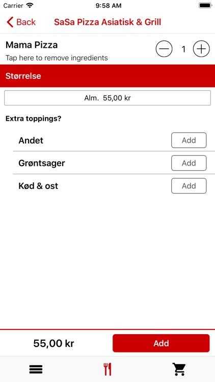 SaSa Pizza Sønderborg screenshot-4