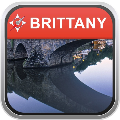 Offline Map Brittany, France: City Navigator Maps