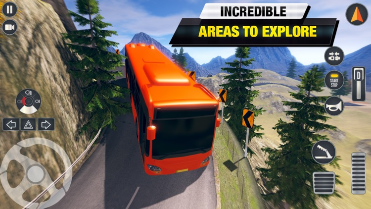 Coach Bus Driving Simulator 3D