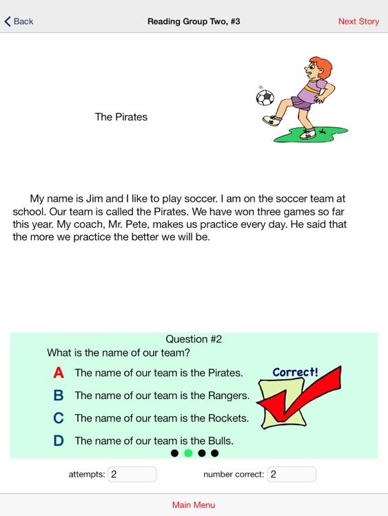 Second Grade Reading Comp screenshot-3